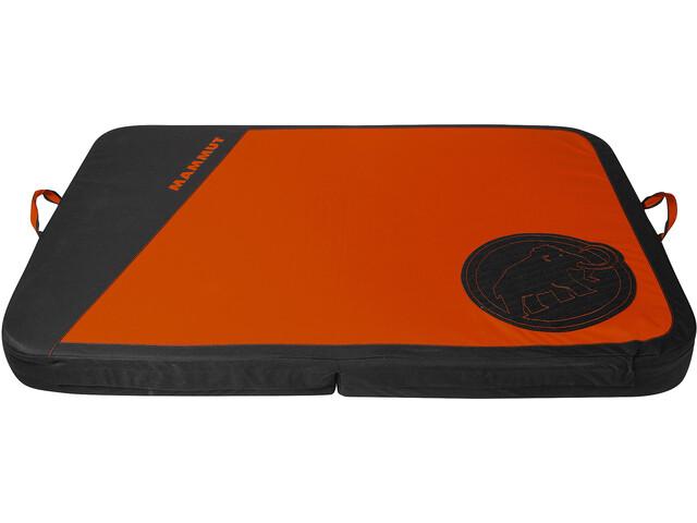 Mammut Crashiano Pad, czarny/pomarańczowy